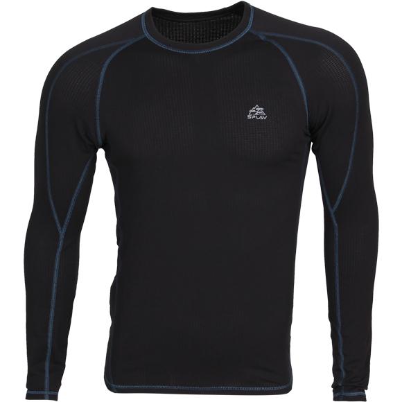 Термобелье футболка L/S Active Thermal Grid light черная, Футболки - арт. 1020680179