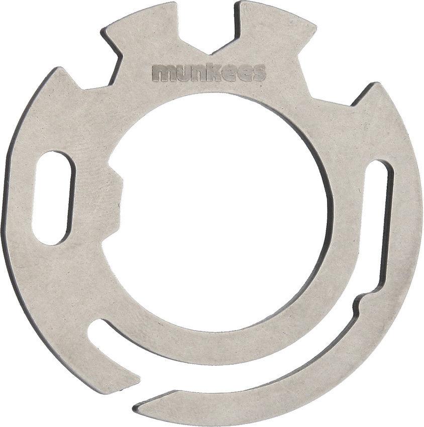 Мультитул в форме круга из нержавеющей стали Stainless Round Tools (упаковка 10 шт), 2504, Прочий инструмент - арт. 827560407