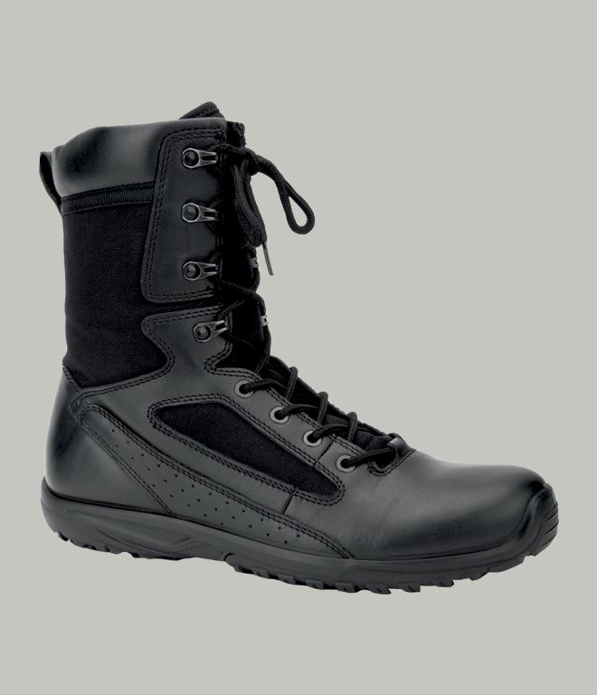 Ботинки с высокими берцами 381 Тактик черные, Ботинки с высокими берцами - арт. 999940245