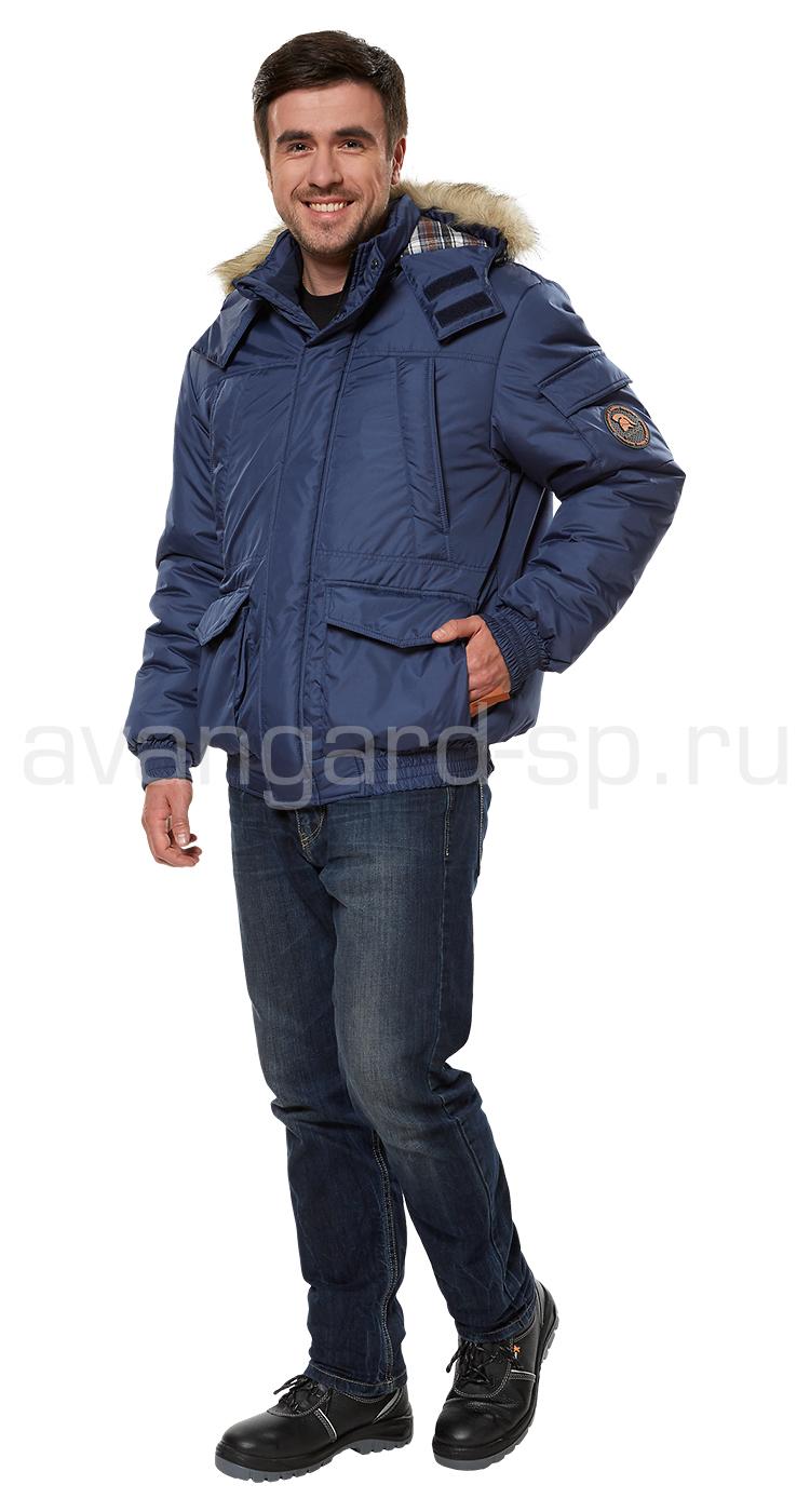 Куртка-бомбер утепленная Солт