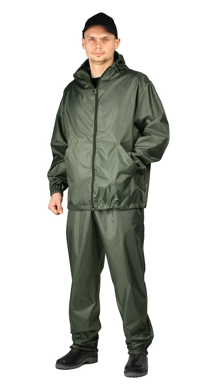 Купить Костюм МАСКХАЛАТ-ЛИВЕНЬ куртка/брюки, цвет: Хаки, ткань : Таффета рип-стоп, Ursus