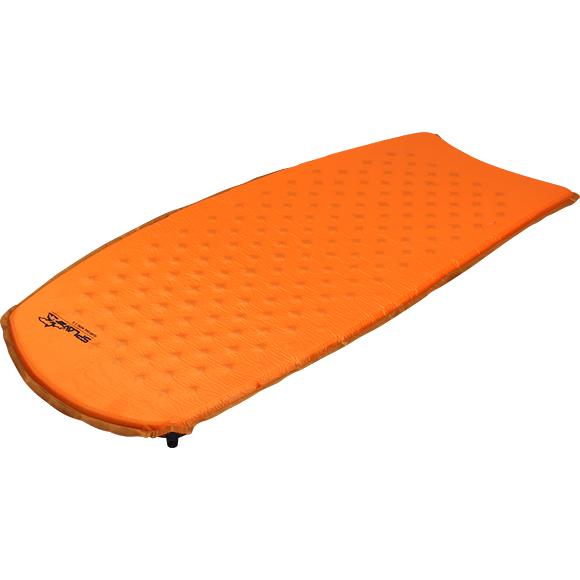 Купить Коврик самонадувающийся Surfing mini 2.5 (оранжевый) (122х51х2, 5), Компания «Сплав»