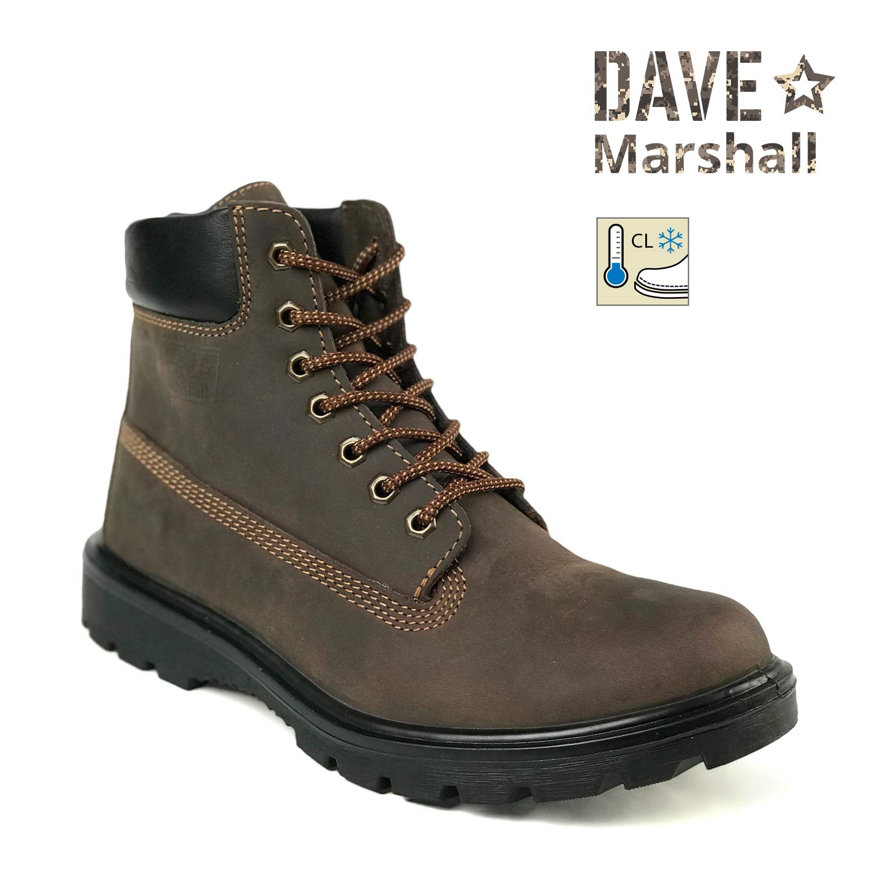 Ботинки кожаные утепленные DM DAKOTA B-6AL, Ботинки с высокими берцами - арт. 1004290245