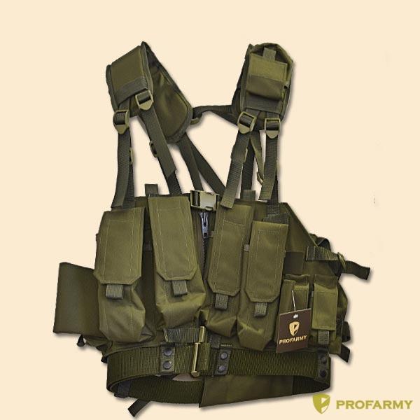 Жилет разгрузочный Спецназ (олива), Разгрузки - арт. 898830194