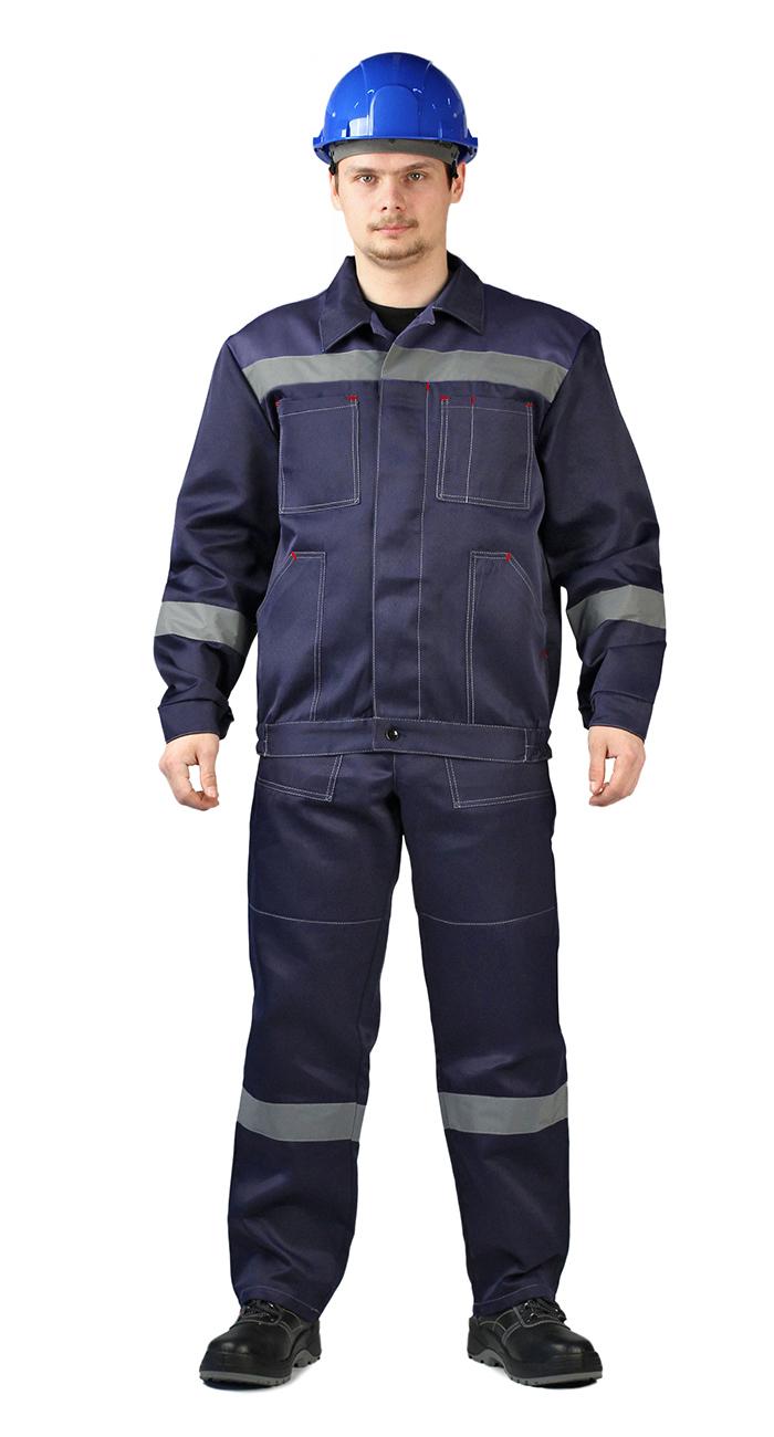 Костюм ЛЕГИОН куртка/брюки темно-синий, Рабочие костюмы - арт. 1011680257