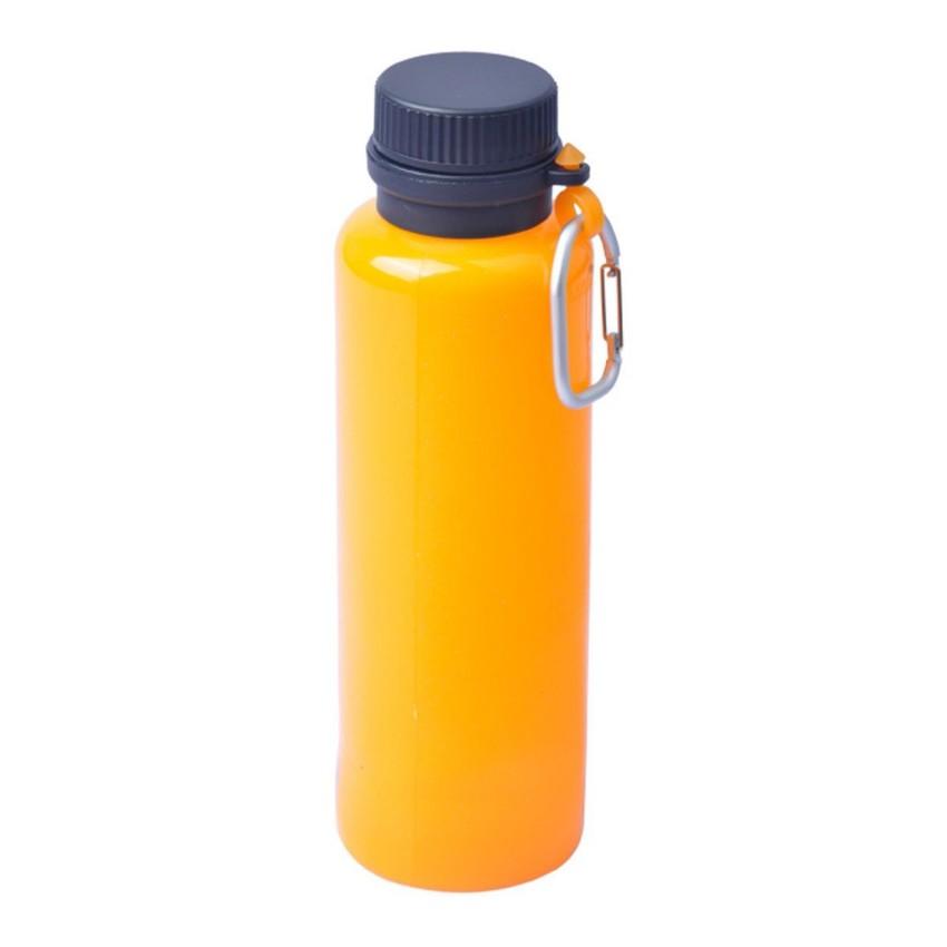 Складная силиконовая бутылка 550 мл. Оранжевый, 1543 - артикул: 816360196