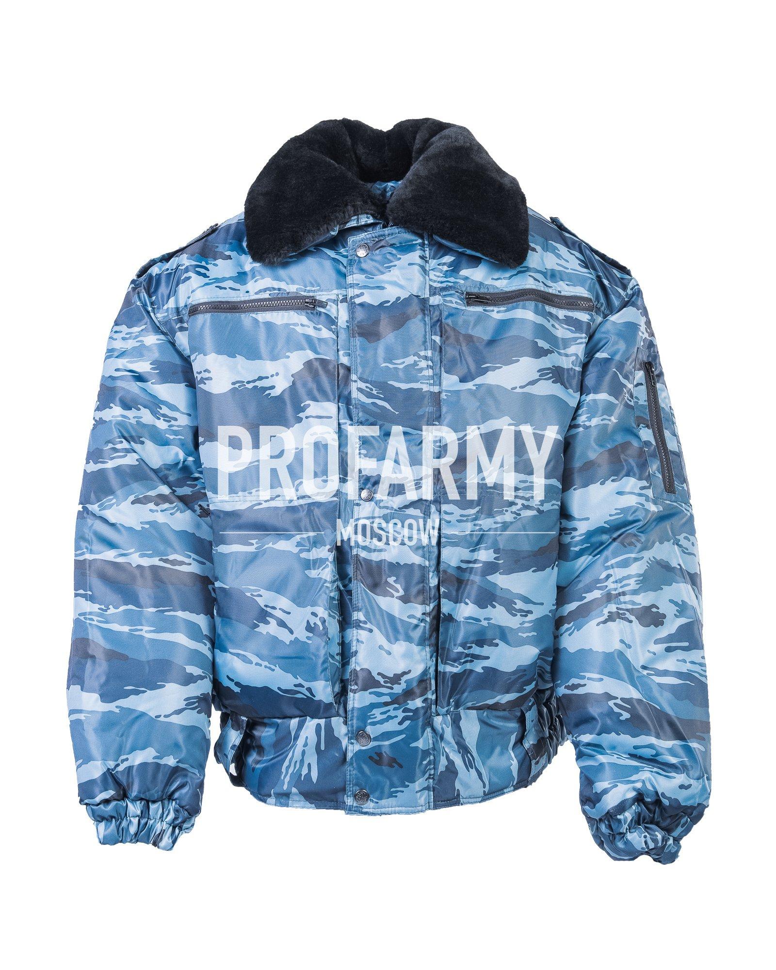 Куртка зимняя Снег-М (синий камыш) оксфорд