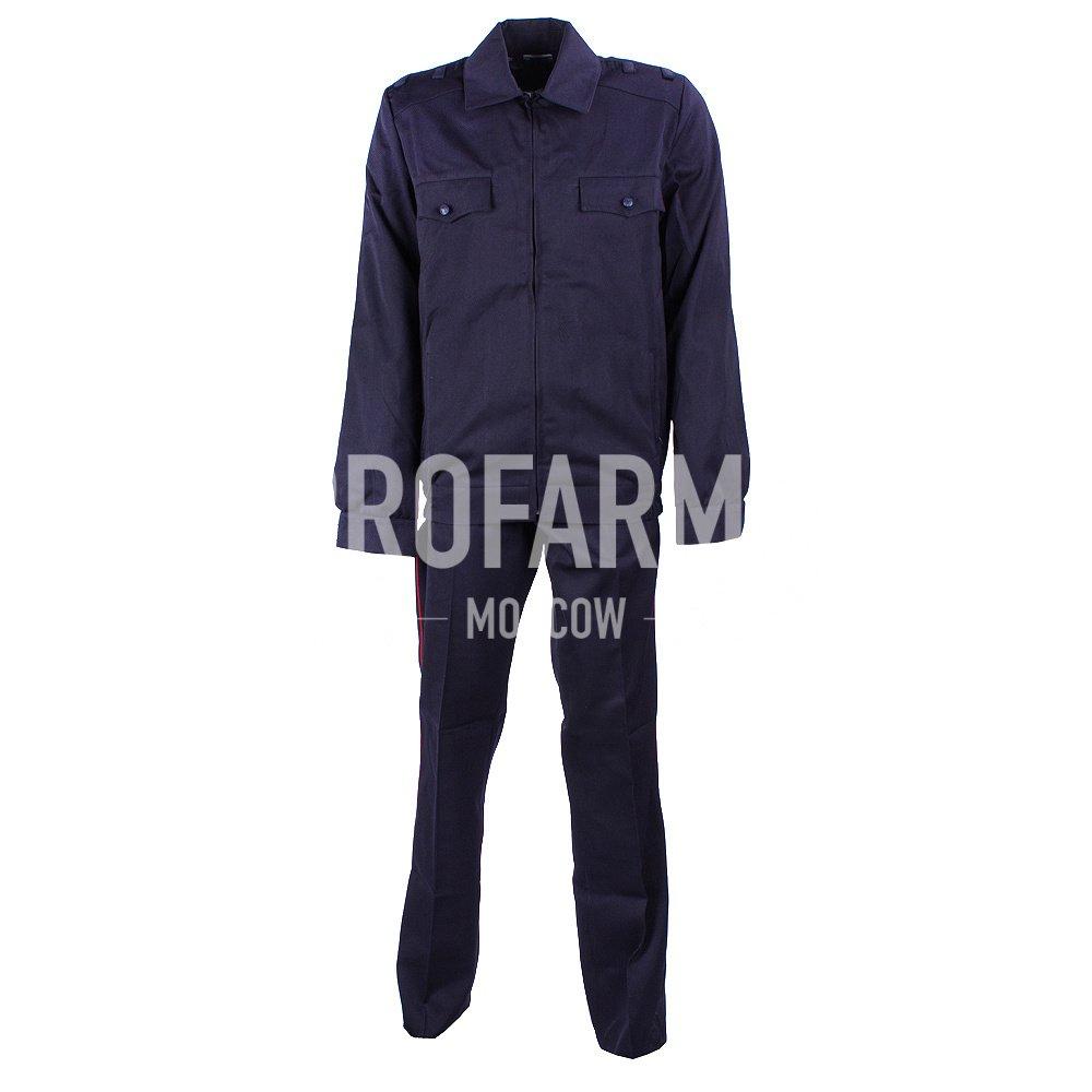 Костюм Полиция полушерстяной (аналог), Форменные костюмы - арт. 864620247
