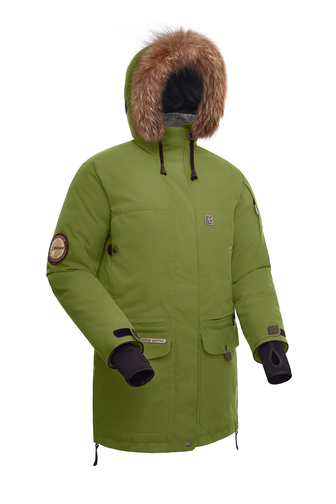 Купить Куртка пуховая женская BASK IREMEL хаки светлый, Компания БАСК