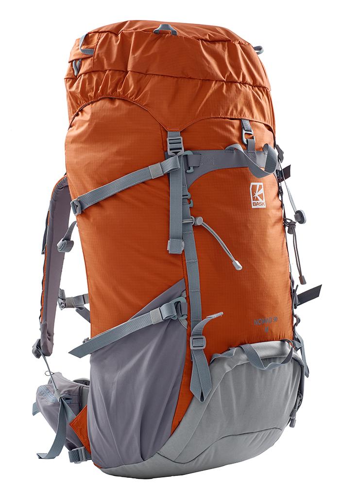 Купить Рюкзак BASK NOMAD 60 XL оранжевый, Компания БАСК