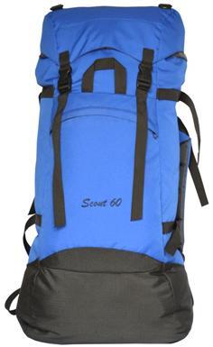 Рюкзак Скаут 60л цвет василек, Рюкзаки для горных лыж и сноуборда - арт. 405030286