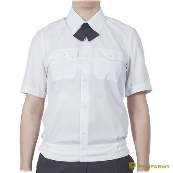 Купить Блуза Полиция бел, короткий рукав, на резинке, Форма одежды