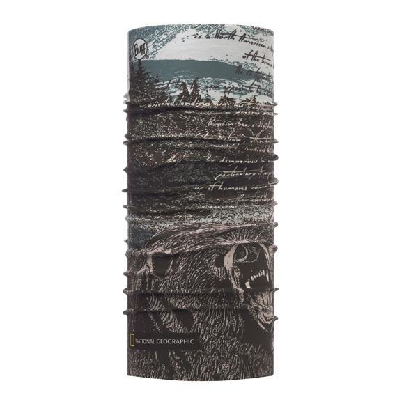 Бандана Buff High UV protection National Geografic Silvertip Multi 117131