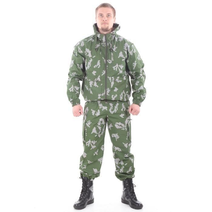Костюм Тактика-2 рип-стоп березка белая, Костюмы - арт. 995050127
