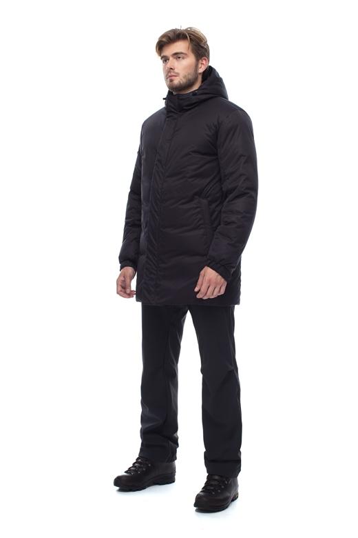 Купить Пальто пуховое мужское BASK ICEBERG черное, Компания БАСК