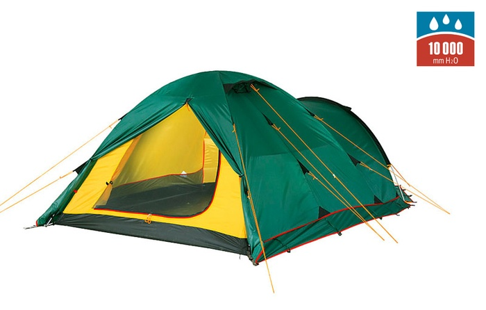 Палатка TOWER 4 Plus Fib green, 9126.4801, Палатки четырехместные - арт. 1027270322
