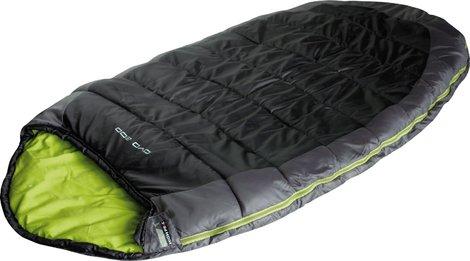 Мешок спальный OVO 200 тёмно-серый/зелёный, 23104