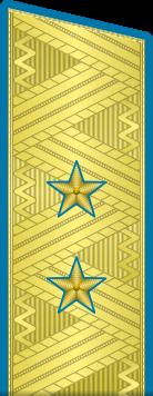 Погоны ВКС-ВВС-ВДВ генерал-лейтенант на китель парадные