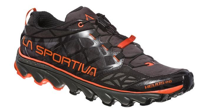 Купить Кроссовки для бега по пересеченной местности HELIOS 2.0 Black/Tangerine, 36A999202, La Sportiva