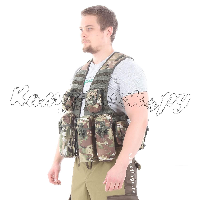 Жилет KE Скорпион с патрульными подсумками multicam, Жилеты - арт. 987260184
