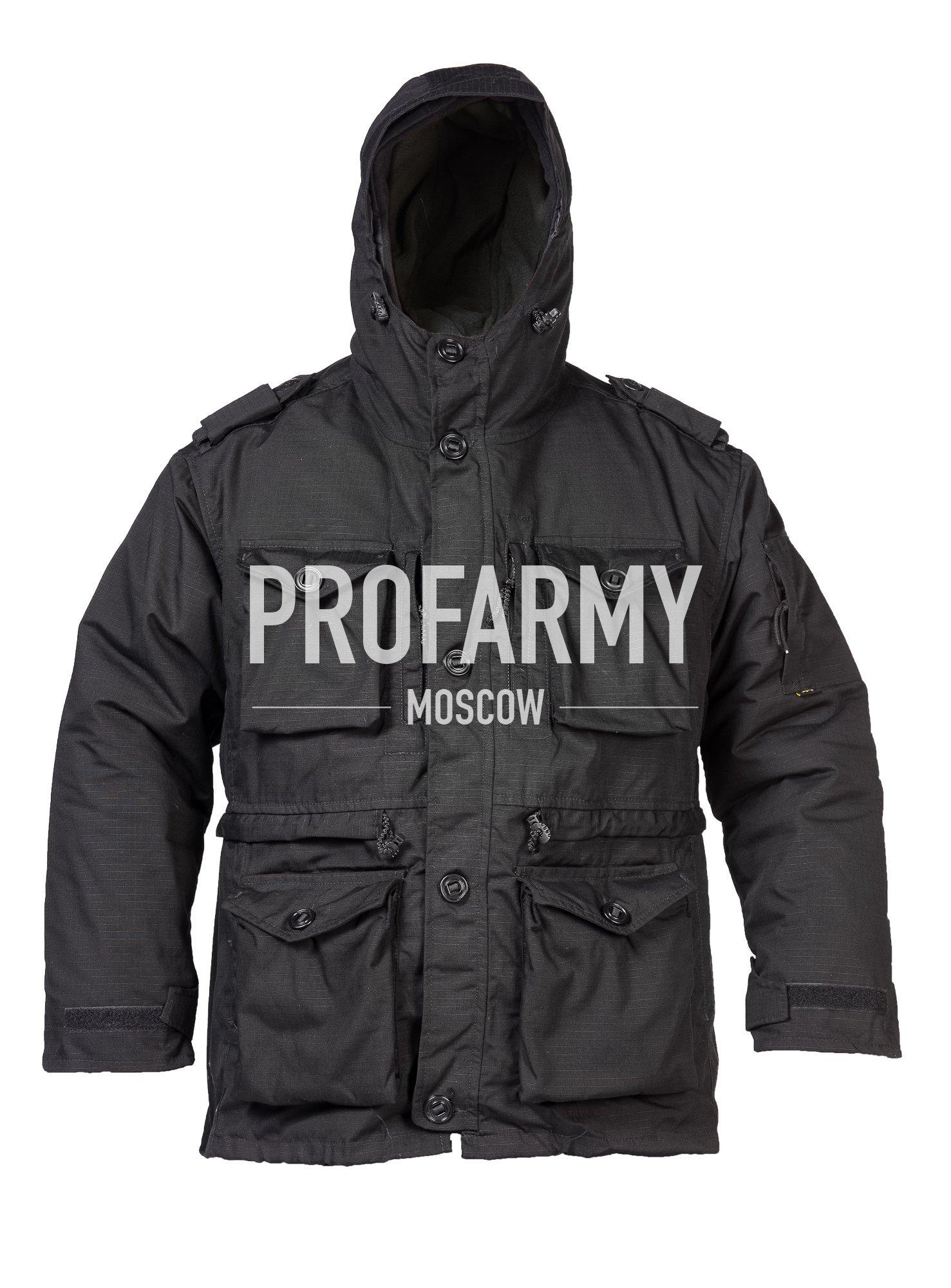 Куртка Смок (черный) RipStop