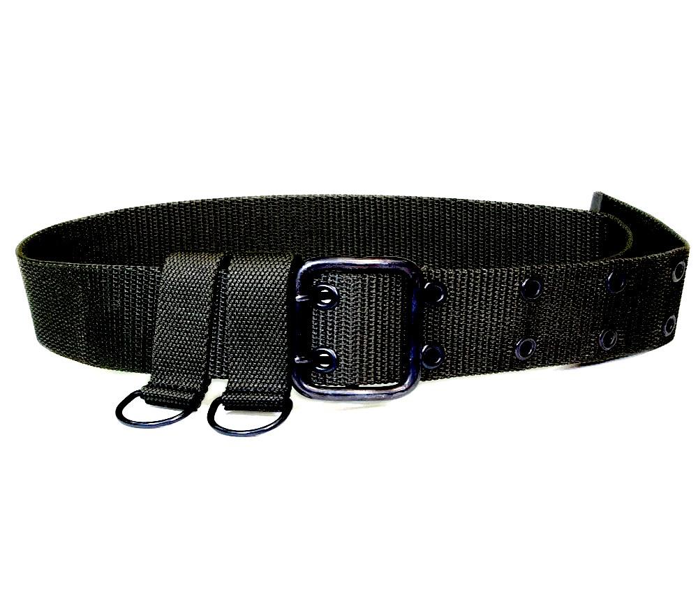 Ремень поясной текстильный общевойсковой черный ТУ 858-6259-2013