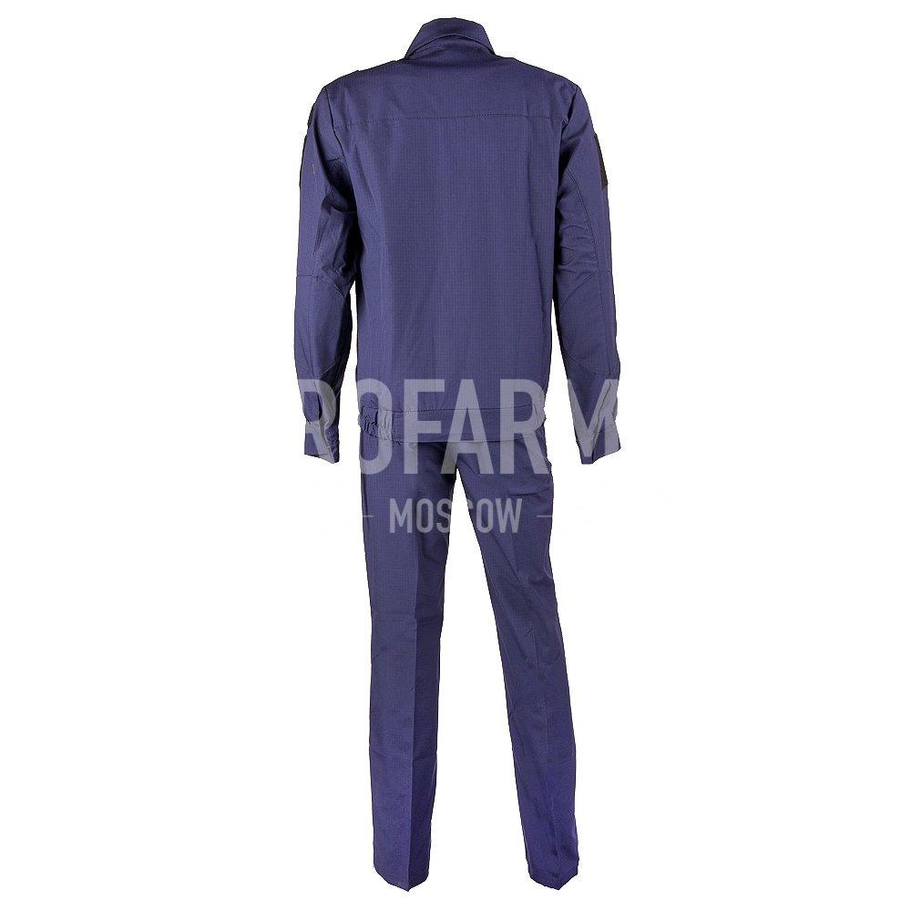 Купить Костюм офисный Тип Б синий рип-стоп длинный рукав, PROFARMY
