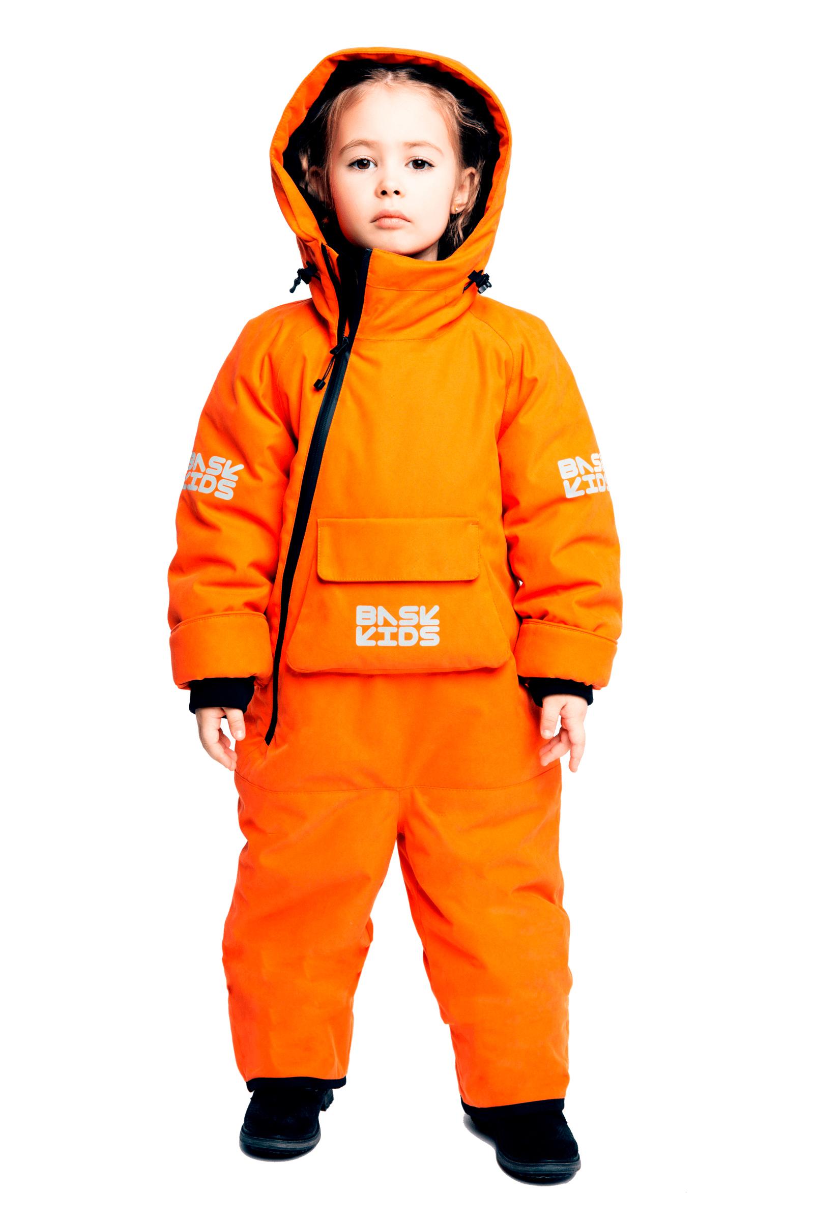 Купить Комбинезон утепленный BASK kids SPACE оранжевый, Компания БАСК