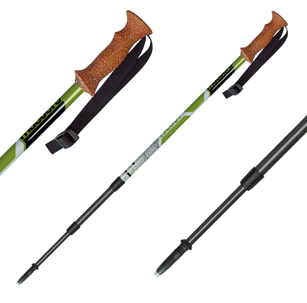 Телескопические палки, SCOUT GREEN, RECREATIONAL BACKPAKING СЕРИЯ 01S1616, Треккинговые палки - арт. 510190287
