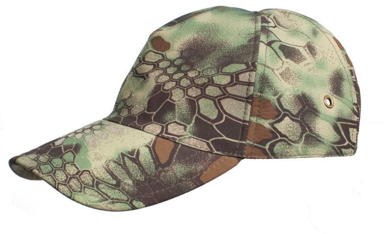 Бейсболка МПА-15-01 питон лес, ткань Мираж