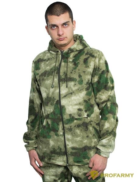 Куртка флисовая TERRA мох, Толстовки - арт. 1065050187