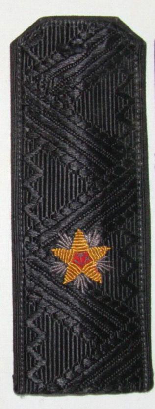 Погоны ВМФ контр-адмирал с хлястиком повседневные