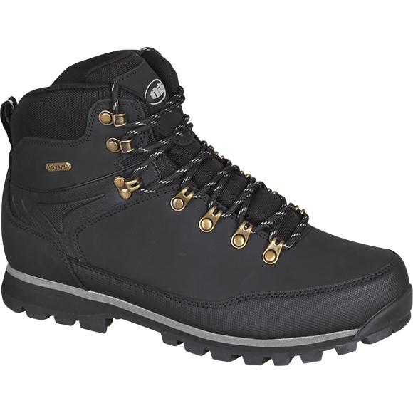 Ботинки трекинговые THB Torres с мембраной черные, Треккинговая обувь - арт. 923770252