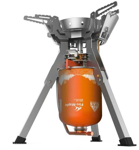 Купить Горелка газовая c системой ППТ и встроенной ветрозащитой, FAMILY NEW FMS-108N, пьезоэлемент Металлик, FMS-108N, Fire-Maple