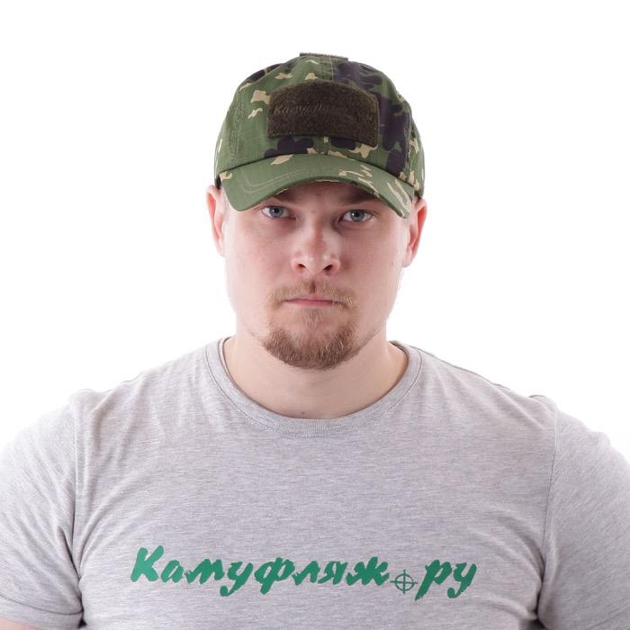 Бейсболка KE рип-стоп сфера