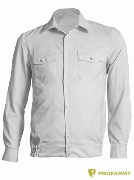 Купить Рубашка Полиция, длинный рукав, белый, PROFARMY