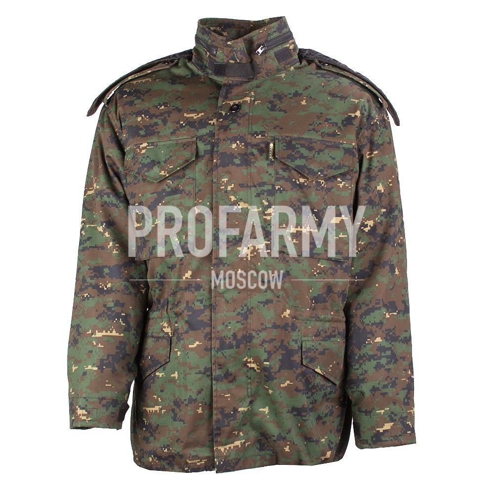 Куртка М-65 в комплекте (диджитал олива), Тактические куртки - арт. 899670335