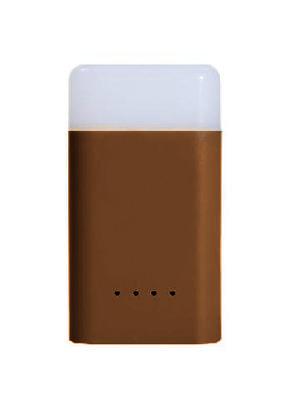 Фонарь+Зарядное устройство, ударопрочный и водостойк. CUBE QUICK Power Bank Light, 400люмен/10800мАч Brown, GY020001, Батарейки и аккумуляторы - арт. 817510464
