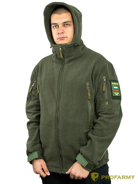 Куртка флисовая SHERPA PF3-03 олива, Куртки из Polartec и флиса - арт. 1053170330