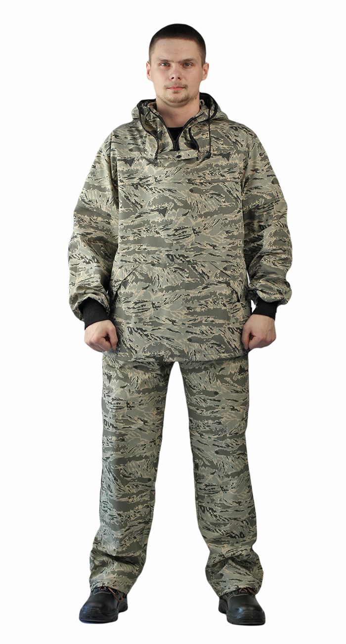Костюм противоэнцефалитный летний, ткань тиси сорочечная-облегченная, камуфляж Серый легион