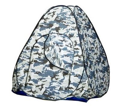 Палатка зимняя автомат 1,5х1,5 белый, камуфляж (без дна), Палатки автоматы - арт. 501530325