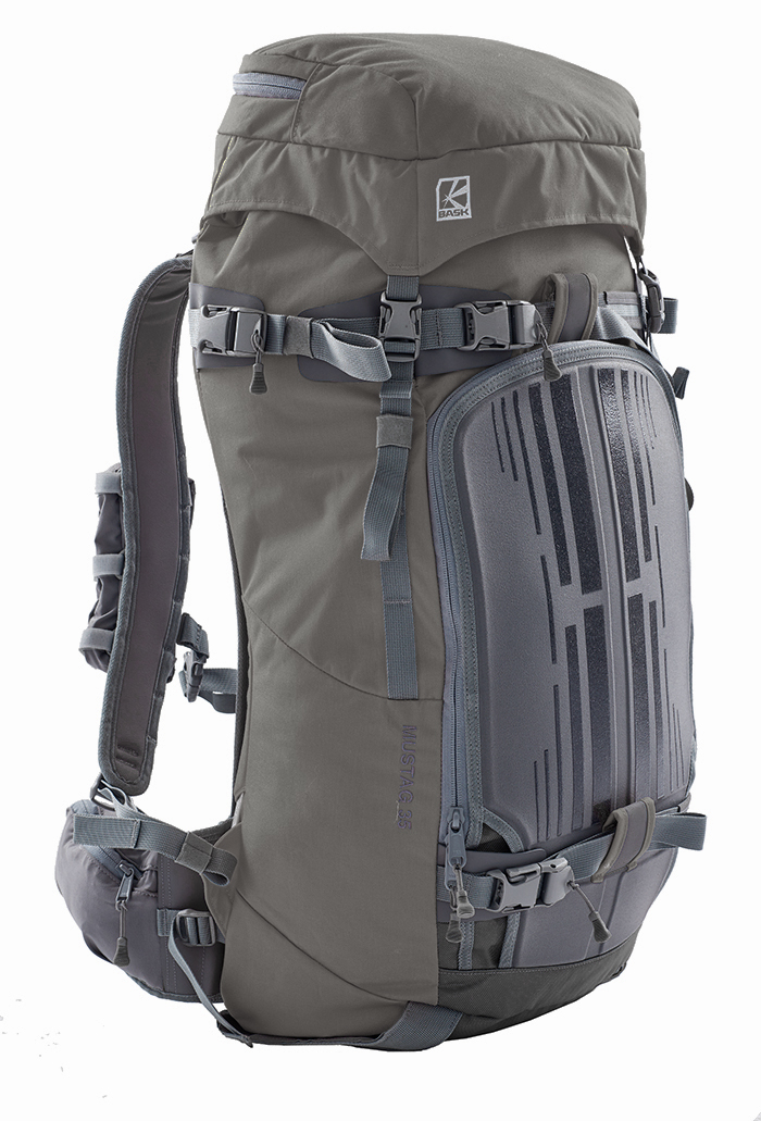 Рюкзак BASK MUSTAG 35 темно-серый, Рюкзаки для горных лыж и сноуборда - арт. 853540286