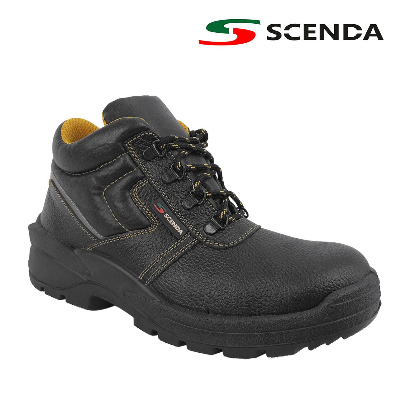 Ботинки кожаные PROFI Basic 5841 S1 - артикул: 926100242
