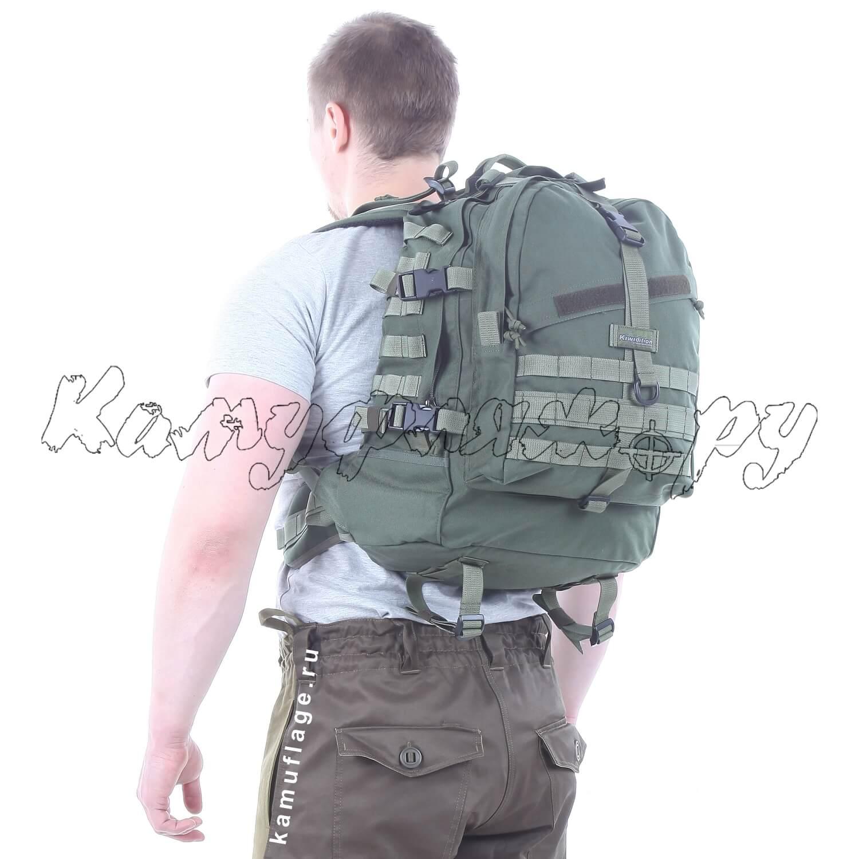 Рюкзак Kiwidition Ekara 46 л 1000 den олива, Тактические рюкзаки - арт. 1011700264