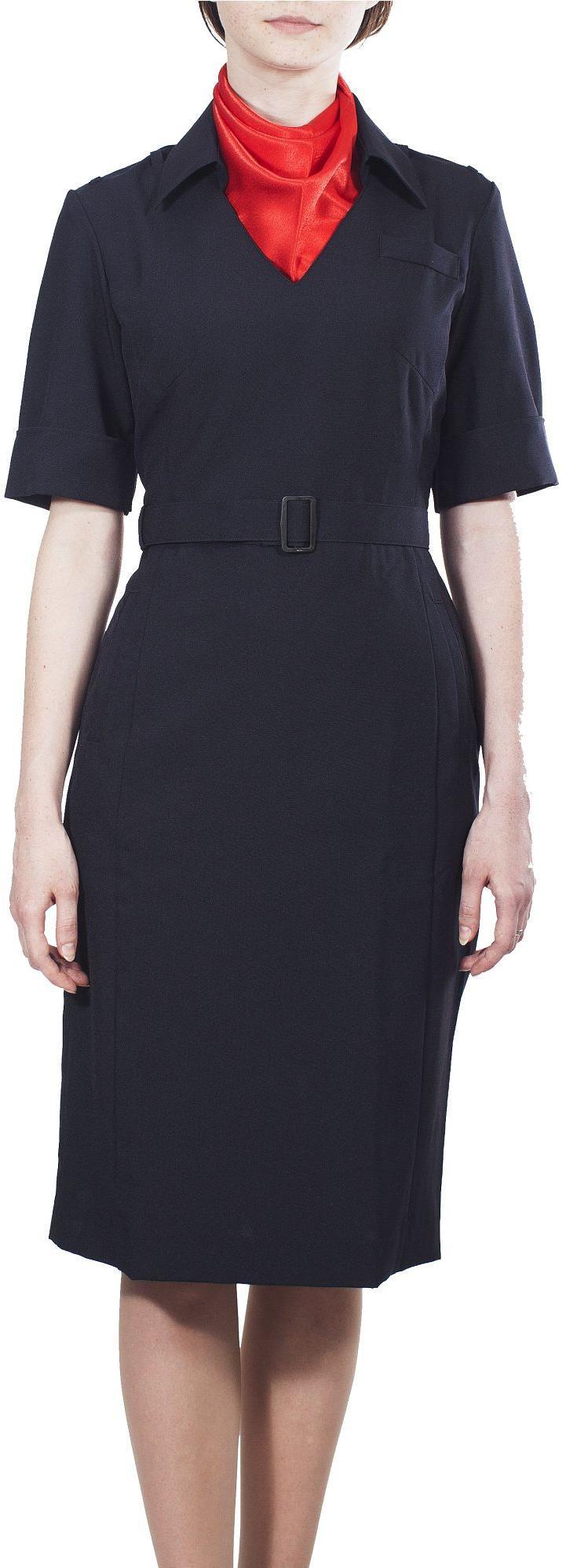 Платье Полиция/Юстиция МВД с коротким рукавом нового образца, Юбки и платья - арт. 907180153