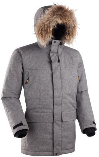 Мужская куртка-парка Баск ARADAN серый тмн, Зимние куртки - арт. 164130333