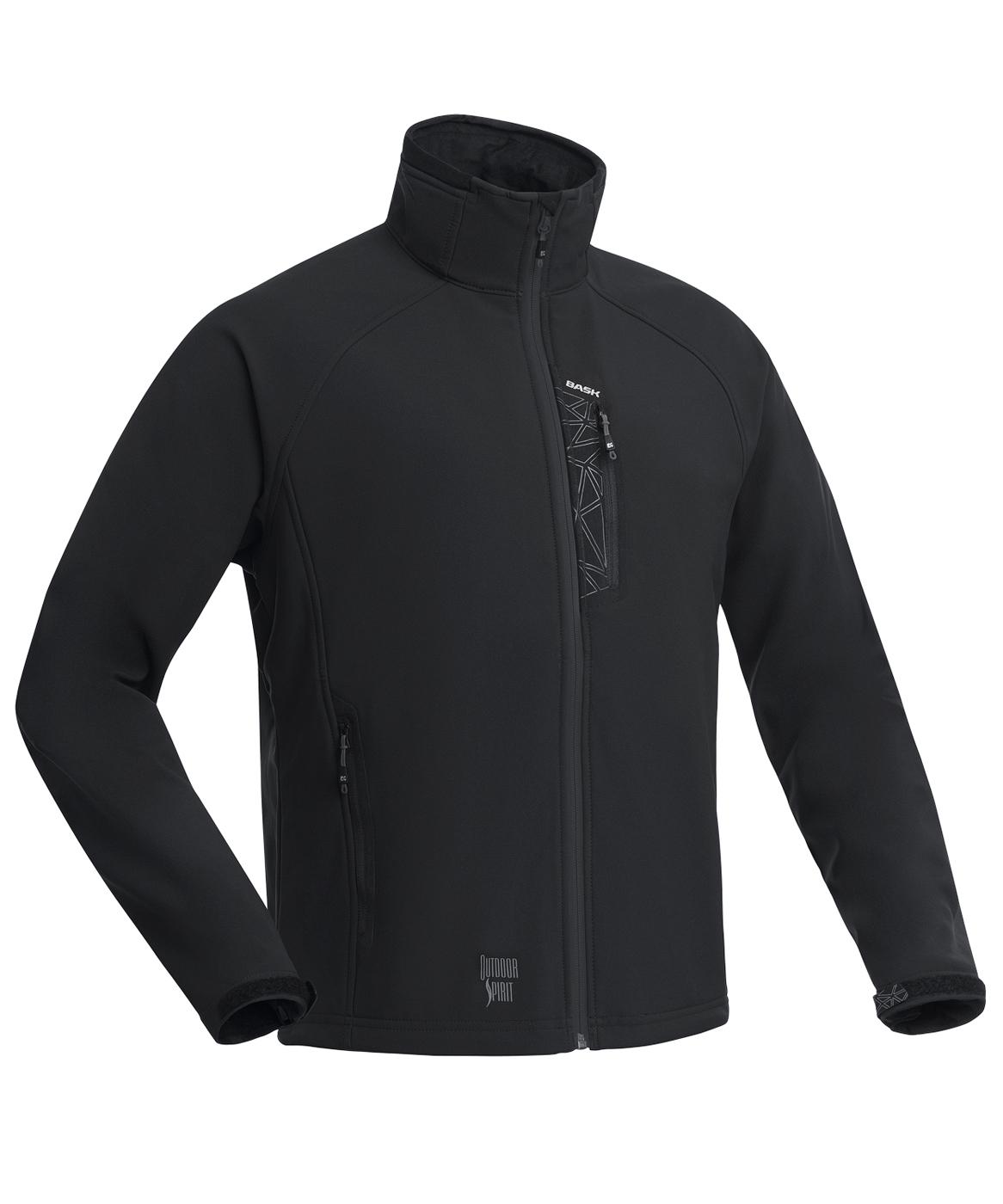 Куртка BASK PANZER V5 черная, Куртки из Softshell и Windbloc - арт. 994720329