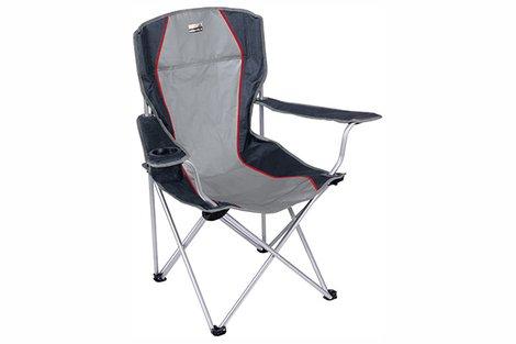Кресло Campingstuhl Salou серый/тёмно-серый, 54х43,5х41/93 см, 44106