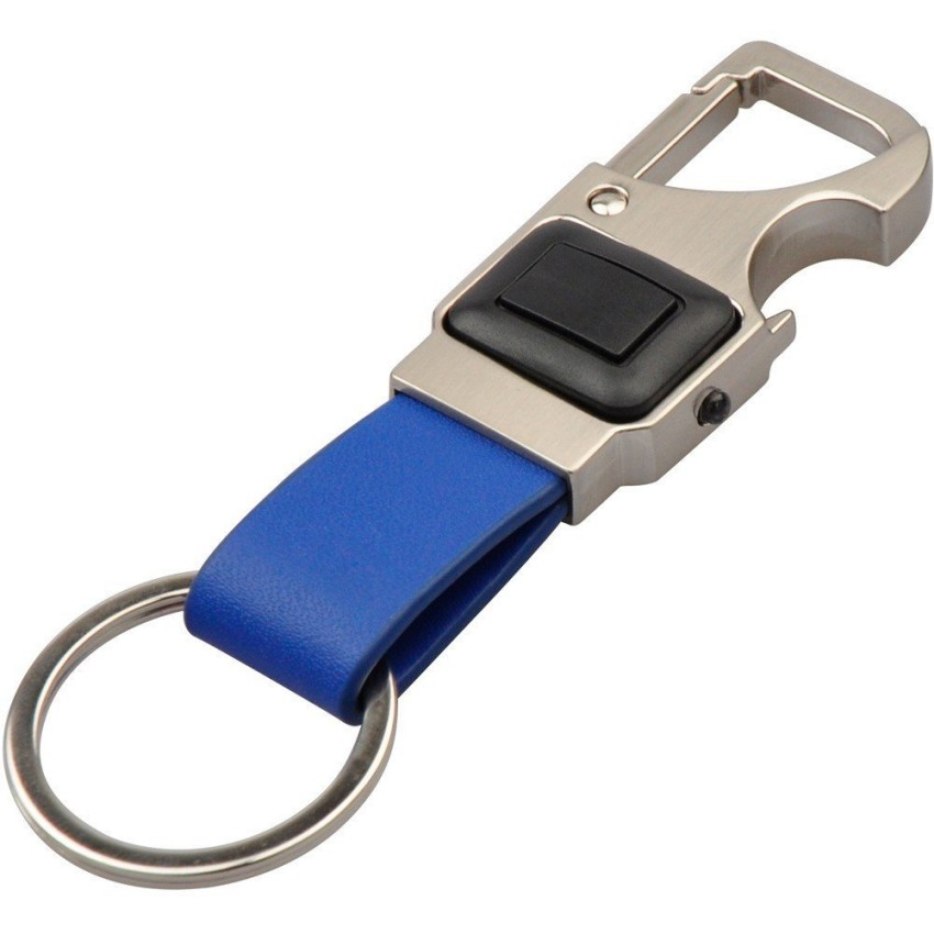 Купить Фонарик с открывалкой и карабином. 3-function Key Fob - carabiner, bottle opener, LED light (упаковка 10 шт) - 2 цвета, 1104, Munkees