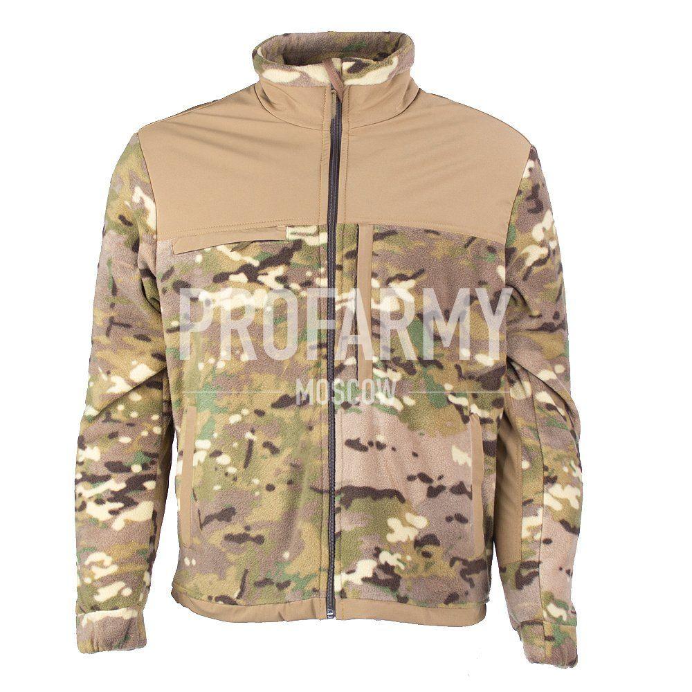 Куртка HUSKY-3 2LPF260 (мультикам), Куртки из Polartec и флиса - арт. 1052290330